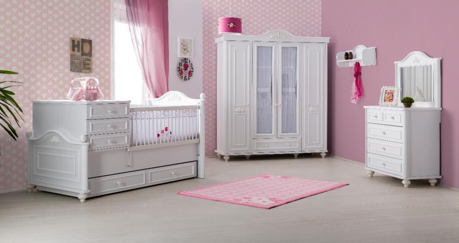 Bella meisjes kamer kinderkamer specialist in kinderkamers en