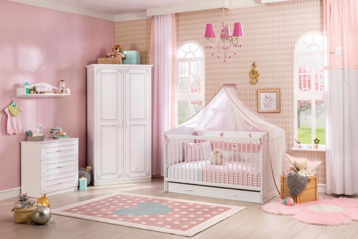 Baby Kamers Compleet.Emily Meisjes Babykamer Specialist In Kinderkamers En Slaapkamers