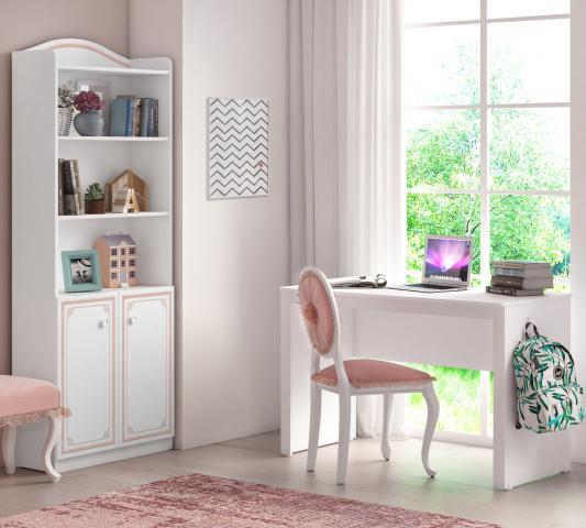 Emily Pink bureau meisjes en boekenkast kast meisjeskamer kinderkamer prinsessenkamer