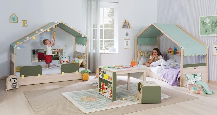 Montes peuterkamer babykamer kinderkamer voor jongens en meisjes