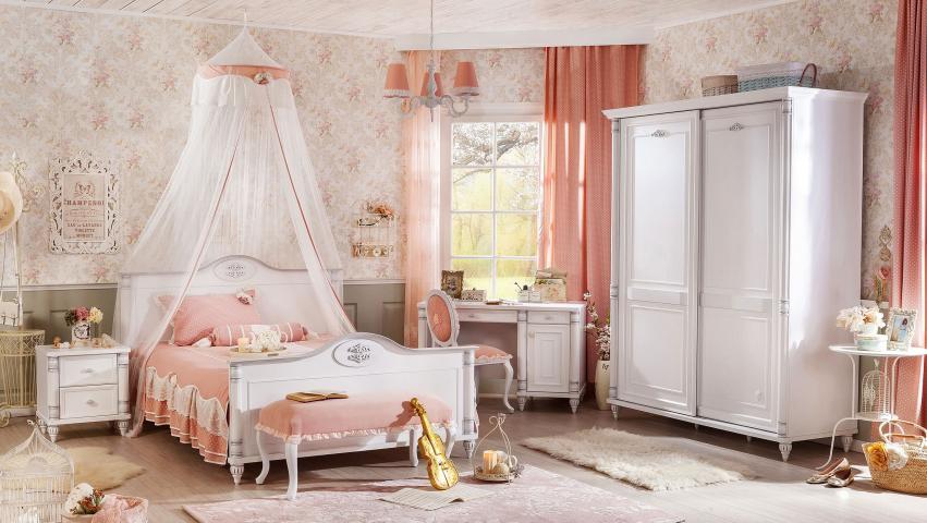 Romantic complete meidenkamer