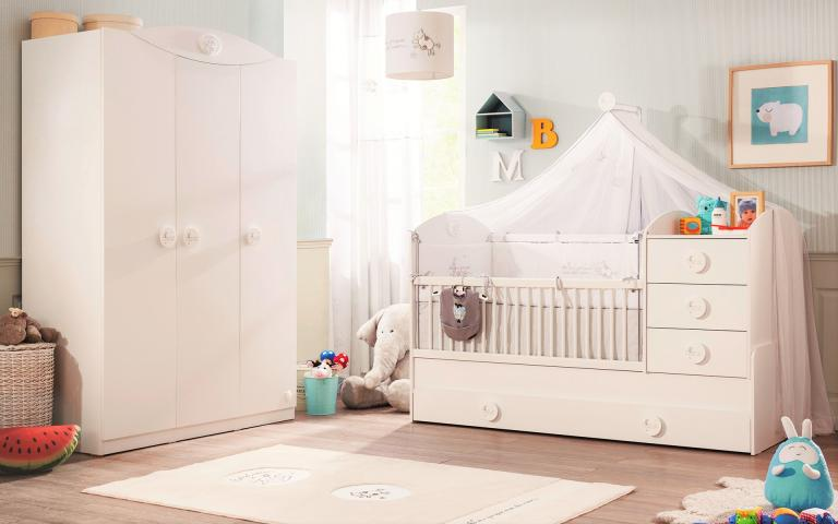 Sachsa peuterbed meegroeibed baby kamer peuterkamer ledikant