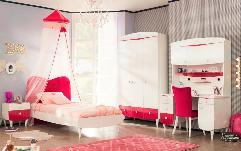 Sweety kinderbed kinderkamer meisjes meisjeskamer complete slaapkamer