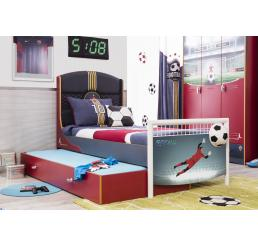 Voetbal bed