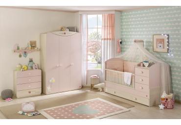 Babykamer roze peuterkamer voor meisjes