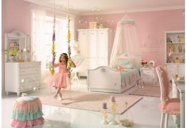 Romantic meisjes kamer kinderkamer