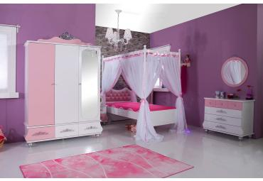 Prinses kinderkamer meisjeskamer roze