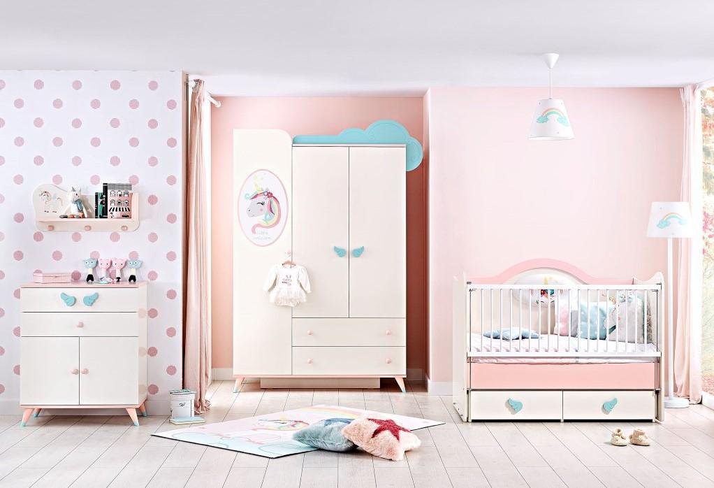 Unicorn babykamer meisjes