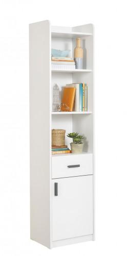California boekenkast wit, witte kast, inspiratie kindermeubels wit, inspiratie meubels slaapkamer wit, by mm store