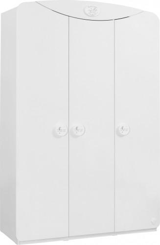 Sachsa kledingkast wit babykamer peuterkamer