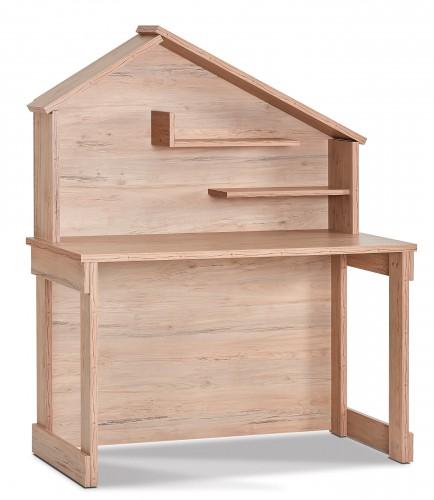 Cento bureau, kinderbureau houtlook, groot bureau met bovendeel, jongensbureau houtlook, meisjesbureau houtlook, inspiratie complete kinderkamer