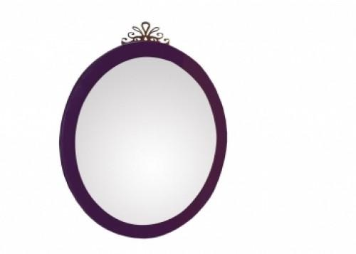 Prinses spiegel meisjes kamer paars