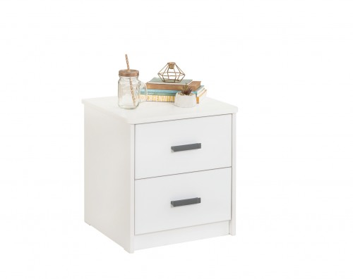 California nachtkastje wit, tienerkamer, inspiratie meubels witte slaapkamer, inspiratie slaapkamer wit