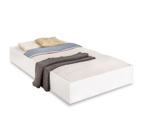 California bedlade tienerbed wit, lade onder bed wit, kinderbed