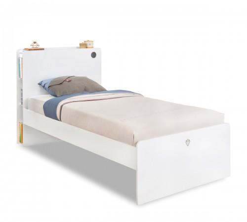 California bed wit, inspiratie kinderbed wit, inspiratie tienerkamer wit, inspiratie slaapkamer wit