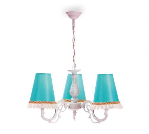 Lara hanglamp in brocante stijl voor meisjeskamer of kinderkamer