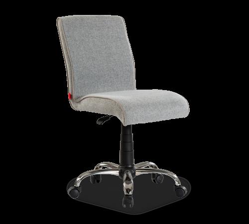 Soft grijze stoel, bureaustoel grijs op wielen en in hoogte verstelbaar, grijze stoel jongens, bureaustoel grijs meisjeskamer, accessoires tienerkamer