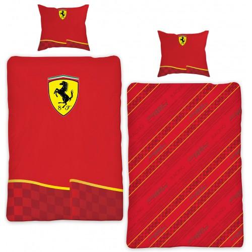 Ferrari dekbedovertrek autobed kinderkamer