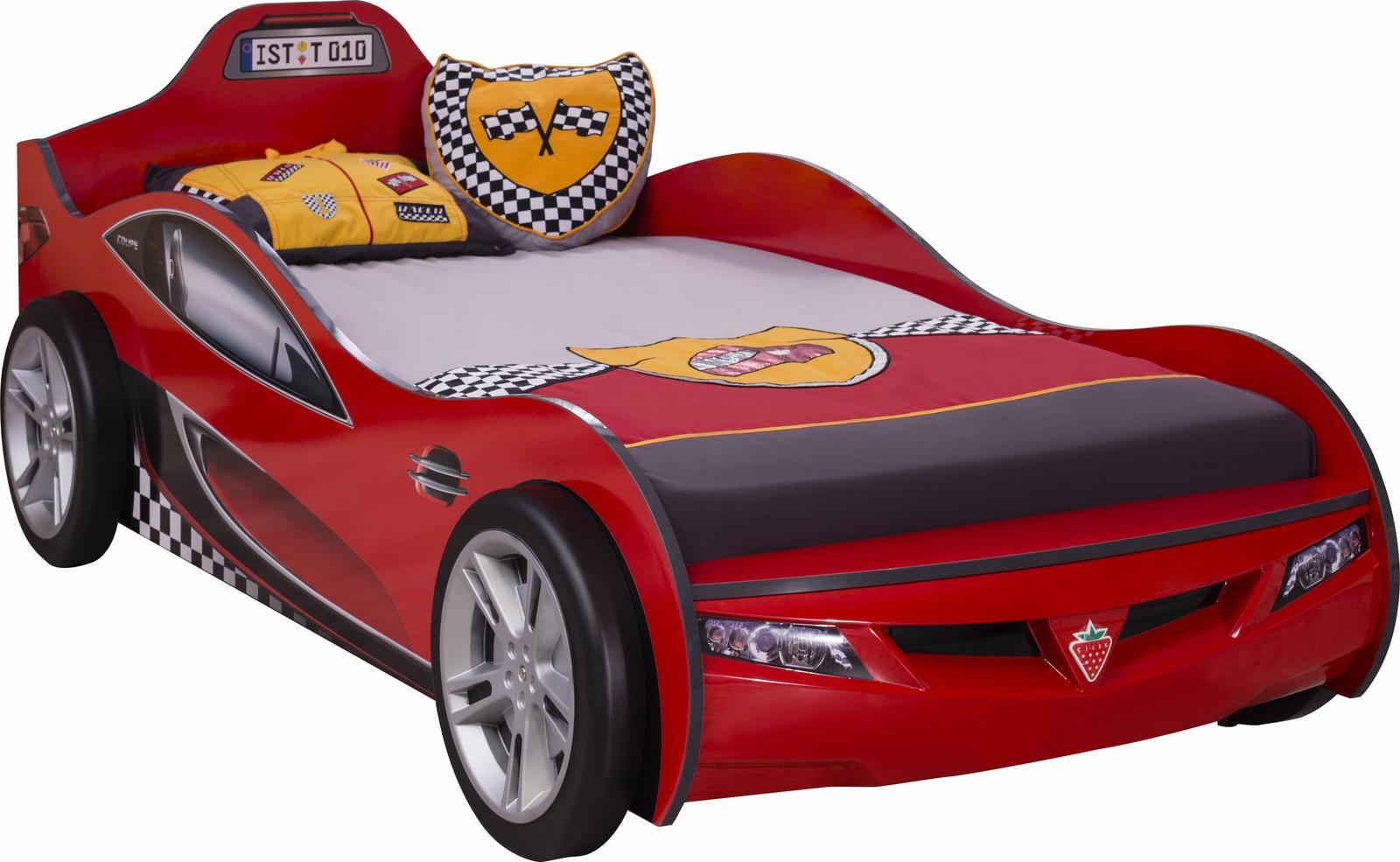 Autobed jongens bed rood kinderkamer specialist in kinderkamers en