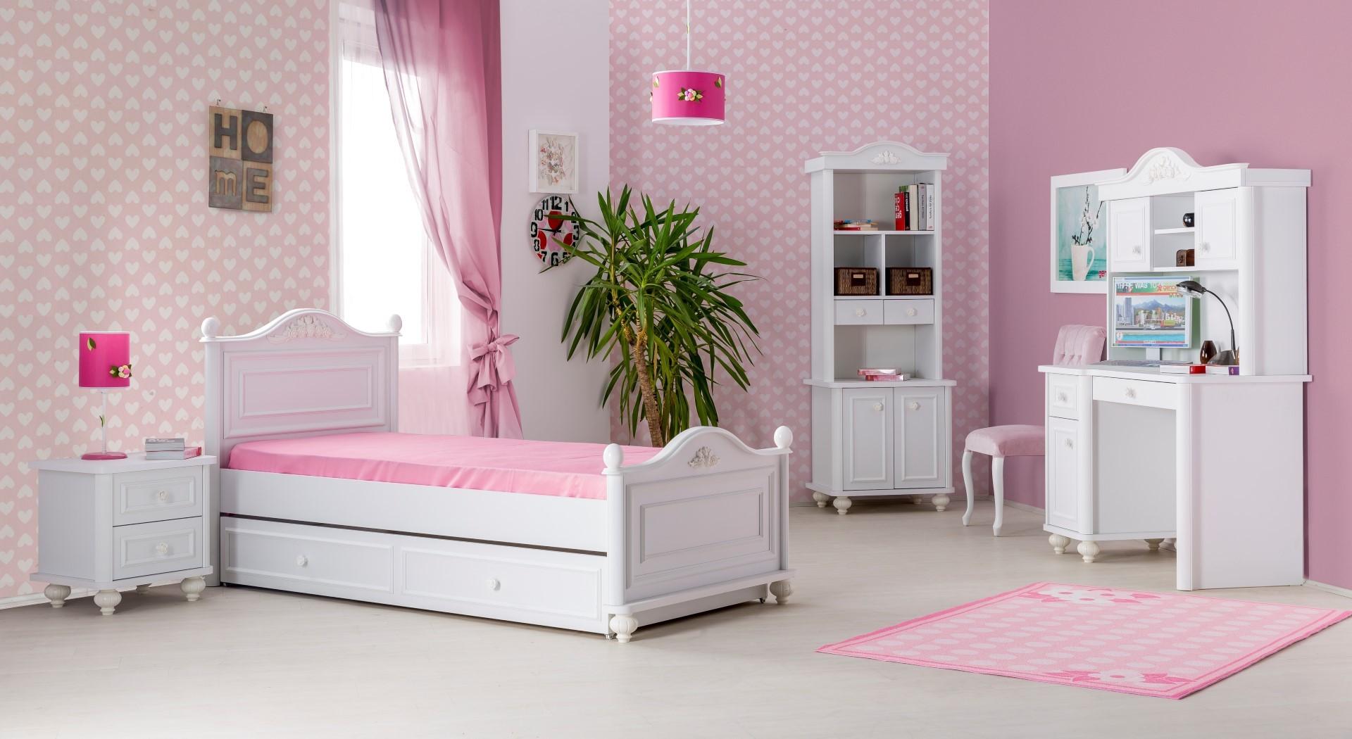 Bella boekenkast meisjes kamer Specialist in kinderkamers en slaapkamers