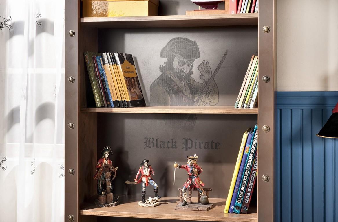 Black Pirate boekenkast piratenkamer Specialist in kinderkamers en ...