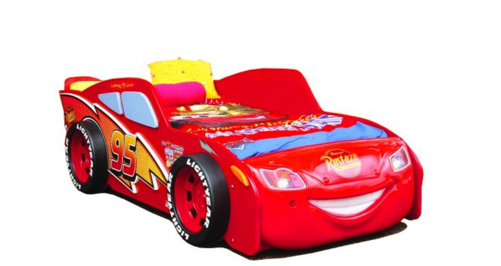 Autobed / kinderbed Cars McQueen Lightning Disney voor de ...