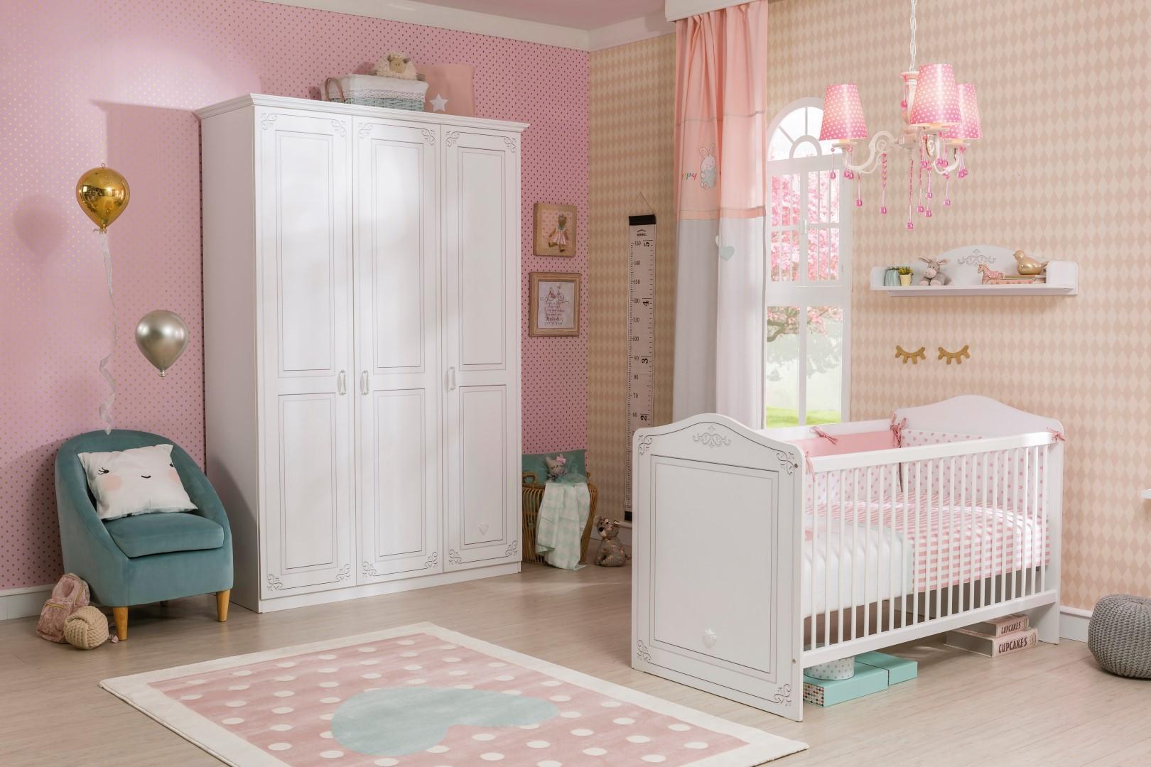 Emily meisjes babykamer ledikant babybed specialist in