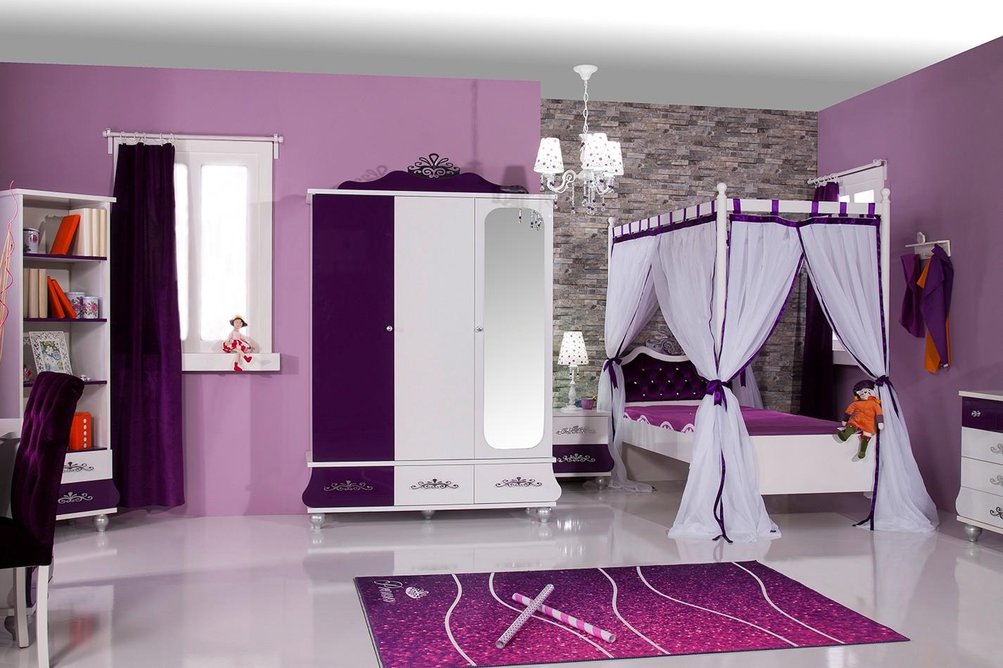 Prinses bedlade meisjes kamer Specialist in kinderkamers en slaapkamers
