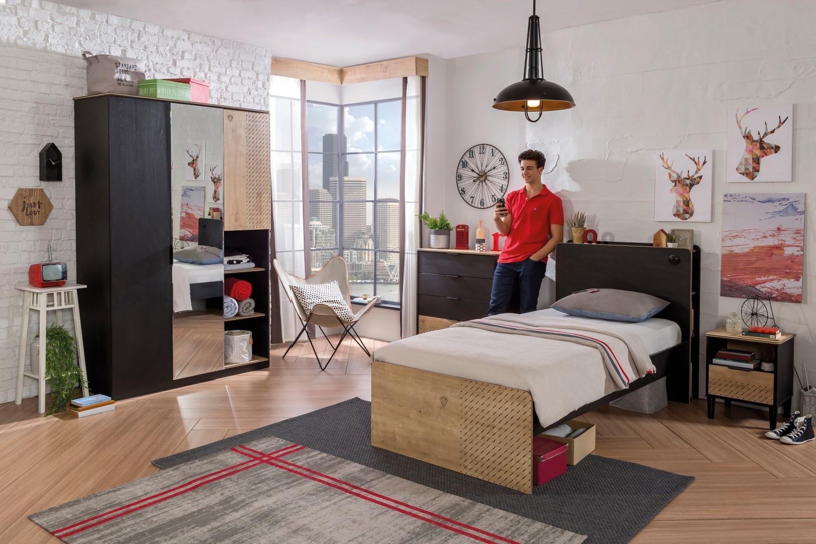 Slaapkamer New York : New york bedlade tienerkamer specialist in kinderkamers en slaapkamers