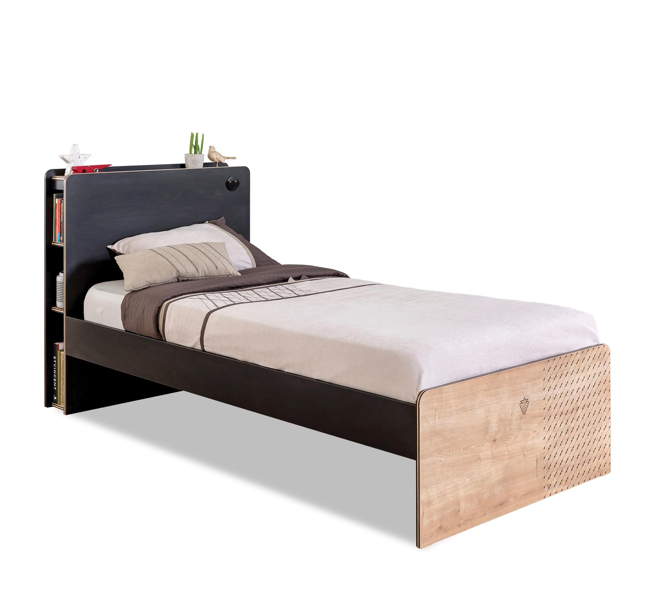 Tienerkamer Basic Wood.New York Tienerbed Tienerkamer 200 X 100 Cm Specialist In