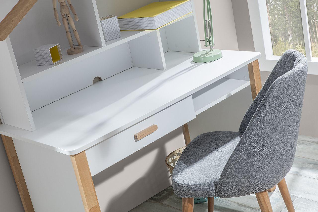 Stoel In Babykamer : Oslo stoel bureaustoel grijs scandinavische kinderkamer specialist