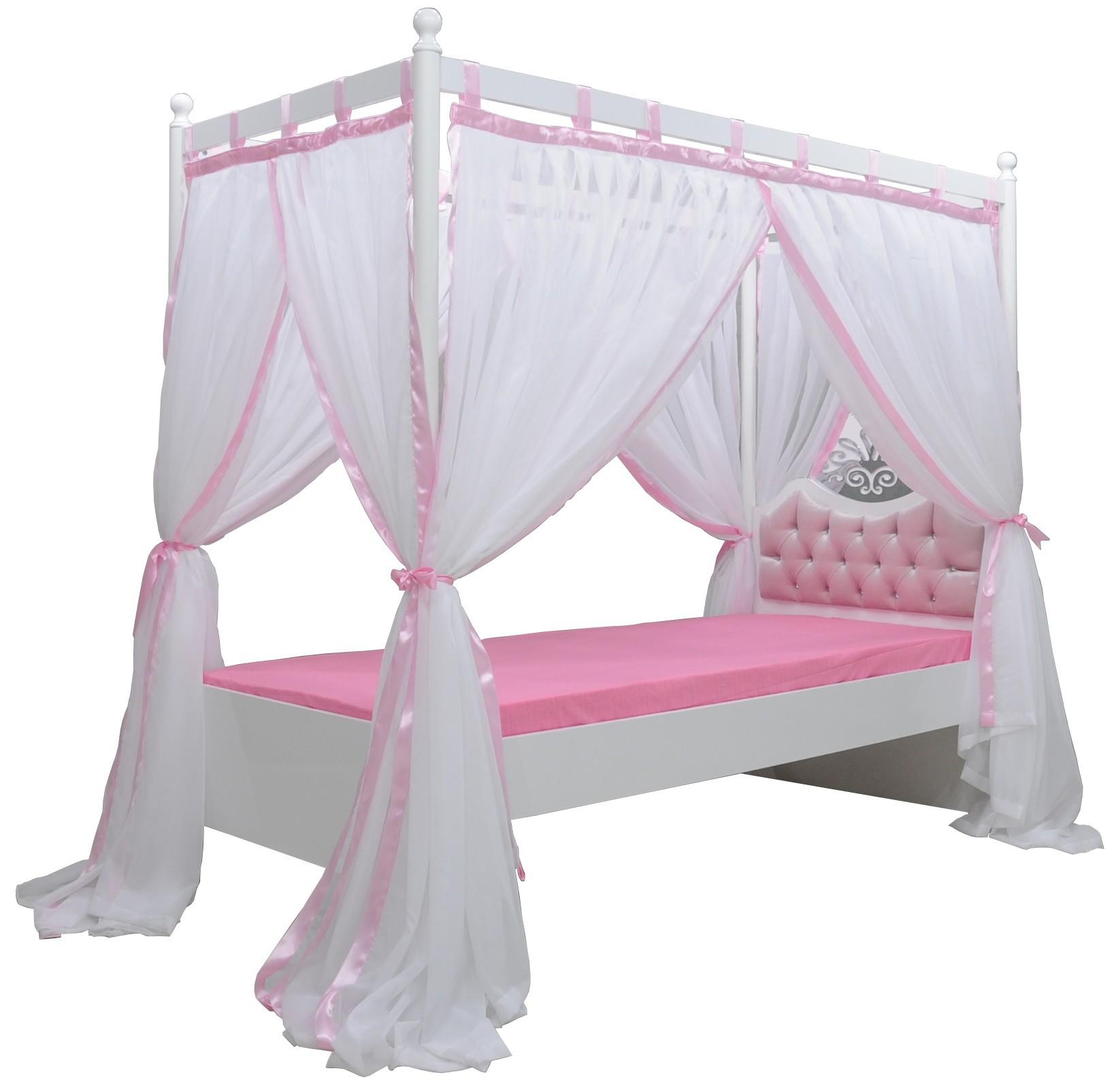 Prinsessen Hemelbed Kinderbed Roze Specialist in kinderkamers en ...