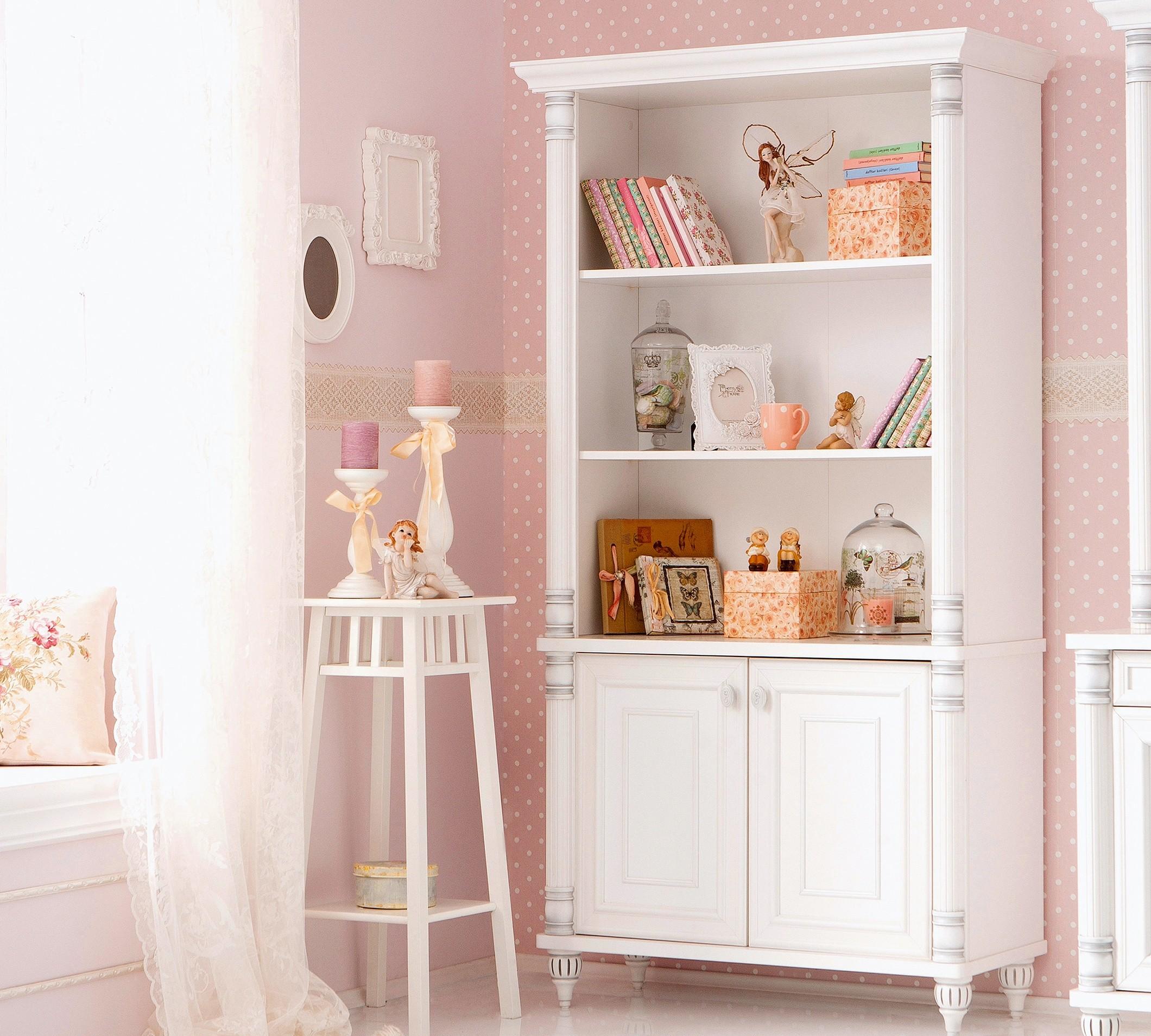 Romantic boekenkast meisjes kamer groot Specialist in kinderkamers ...