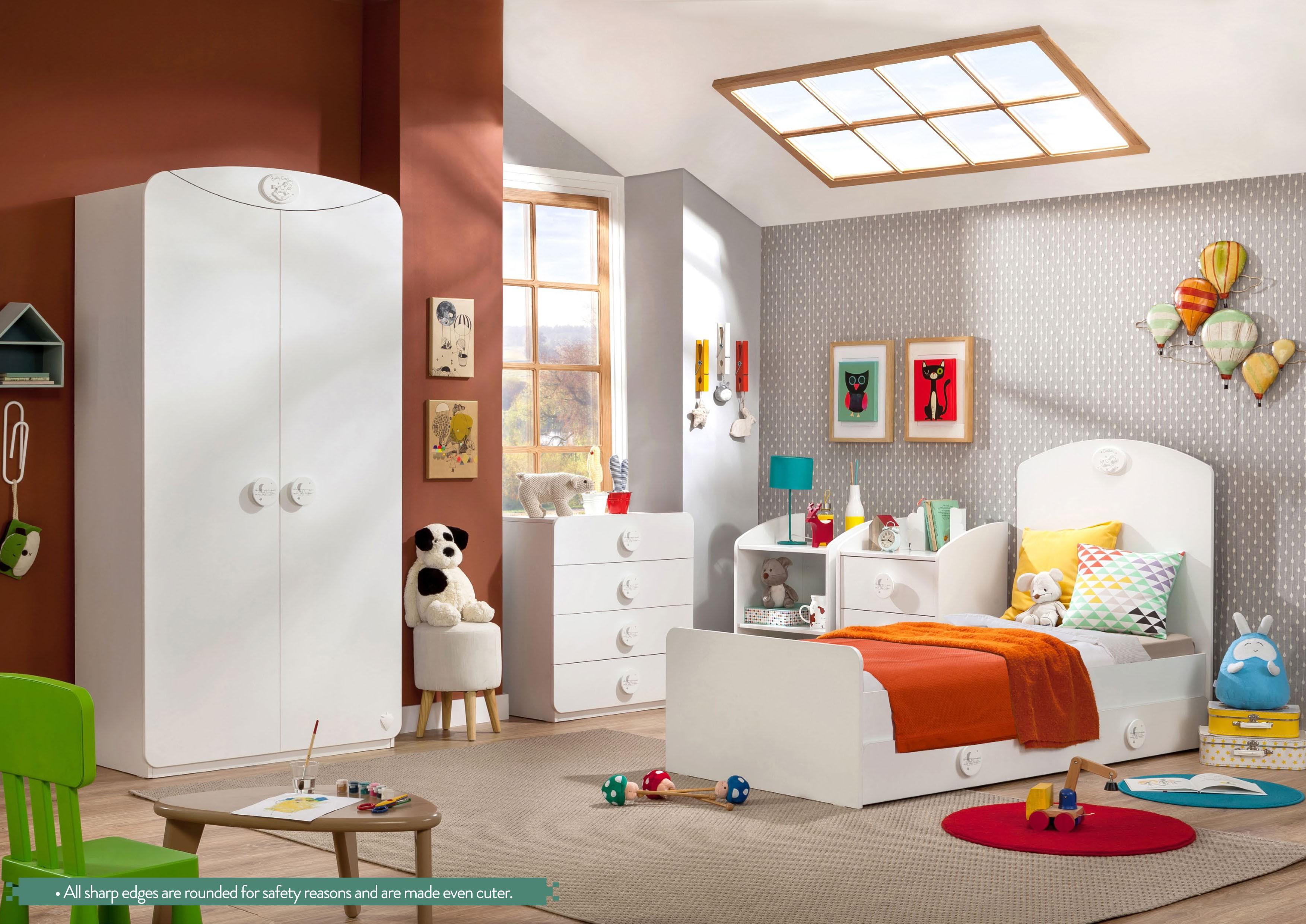 Sachsa baby kledingkast 2 deurs babykamer Specialist in kinderkamers ...