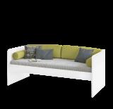 California Studio bedbank wit 200 x 90 cm