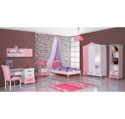 Prinsessenkamer roze | 3 delige setprijs