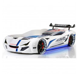 Autobed Racebed Street Racer | wit kinderbed