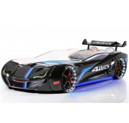 Autobed Racebed Street Racer | zwart kinderbed