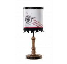 Black Pirate tafellamp piraten jongens kamer