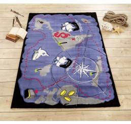 Black Pirate tapijt piratenkamer