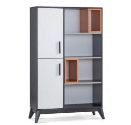 Boston boekenkast open kast moderne slaapkamer