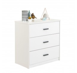 California commode tienerkamer wit