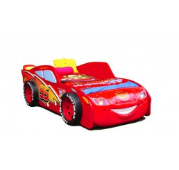 Autobed Cars McQueen Lightning | rood kinderbed