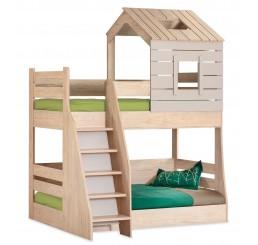 Cento stapelbed bedhuisje kinderkamer 200x90 - 200x100 cm