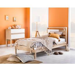 Elba twijfelaar bed tienerkamer slaapkamer 200 x 120 cm