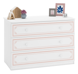 Emily Pink commode ladekast groot meisjeskamer