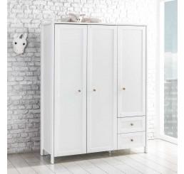 Florence 3-deurs kledingkast tienerkamer slaapkamer