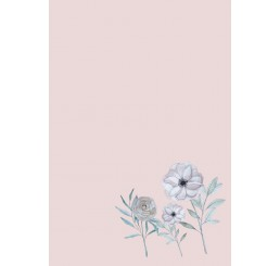 Flower tapijt vloerkleed meisjeskamer kinderkamer