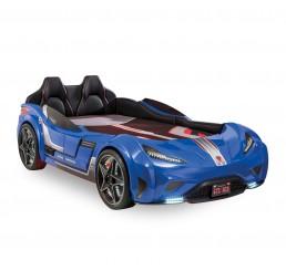 Autobed GTS Racer | blauw kinderbed jongensbed