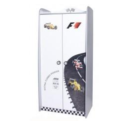 V power kinderkledingkast 2-deurs | wit